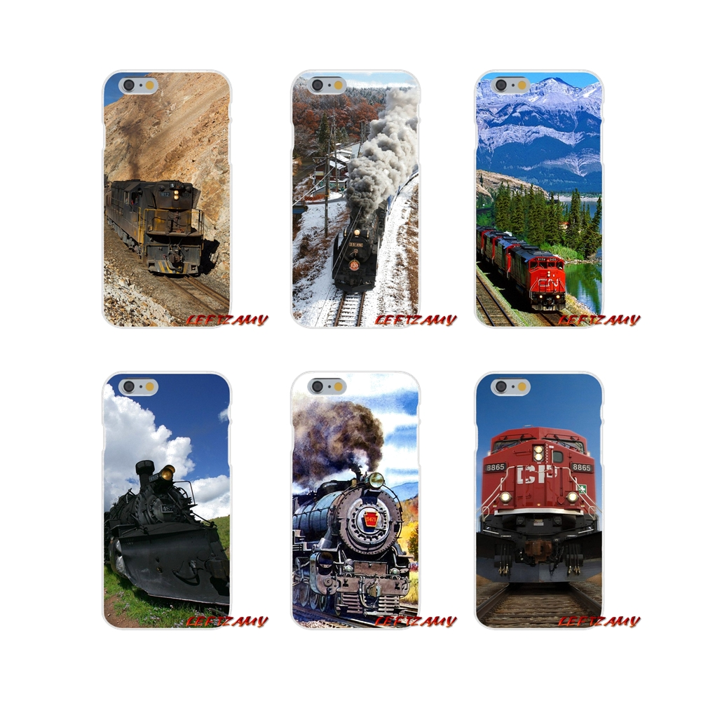Scenic Black Railroad Train Cell Phone Cases Covers For Xiaomi Mi6 <font><b>Mi</b></font> 6 A1 Max Mix 2 5X 6X Redmi Note 5 5A 4X 4A <font><b>A4</b></font> 4 3 Plus Pro image