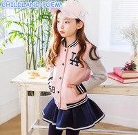 Girls Clothing Set Casual Kids Sport Cotton Children Tracksuits For Girls School Uniform Girls Sport Suits Kids Teens Clothes