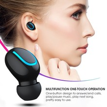 Wireless Bluetooth V5.0 Earphonewith Microphone Waterproof headset Stereo TWS Noise Canceling Handsfree Bass Earbuds Ear