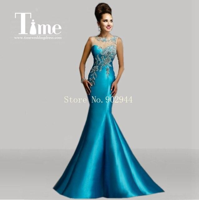 68af3b457 Imagenes de vestidos de noche azul turquesa – Vestidos para bodas