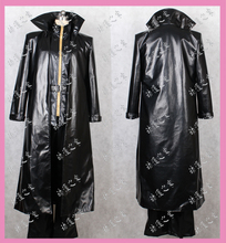 Resident Evil 4 Albert Wesker Cosplay black Costume set