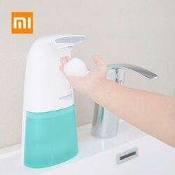 Xiaomi Mijia XiaoJi Auto indukcyjna spieniania podkładka ręka automatyczny dozownik mydła 0.25 s podczerwieni indukcyjne dla dziecka i rodziny
