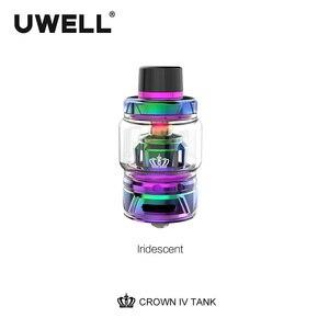 Image 2 - Бак UWELL Crown IV Crown 4 с двойной катушкой SS904L и технологией самоочистки, атомайзер 2 мл/6 мл, испаритель для электронной сигареты