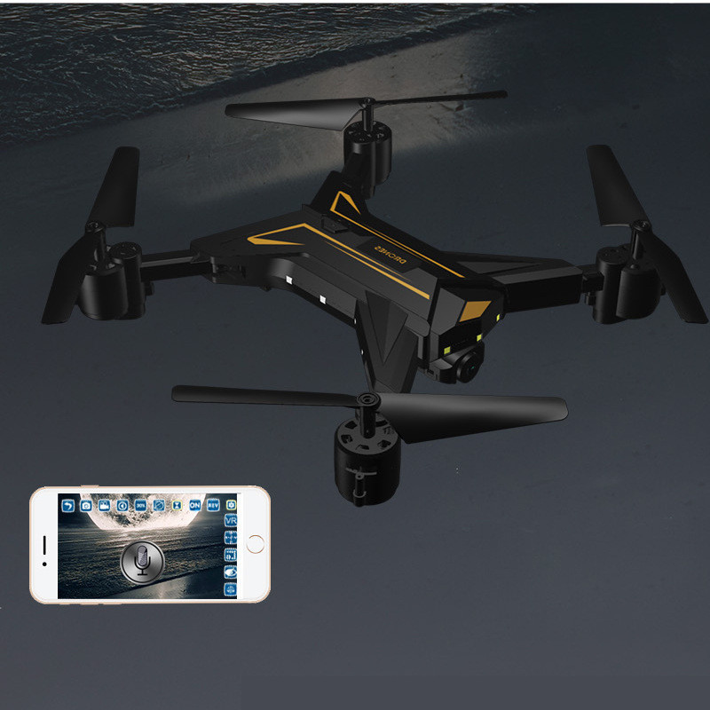 RC Dron KY601 Mini Foldable Selfie rc dron With FPV Wifi Camera Altitude Hold Headless Mode