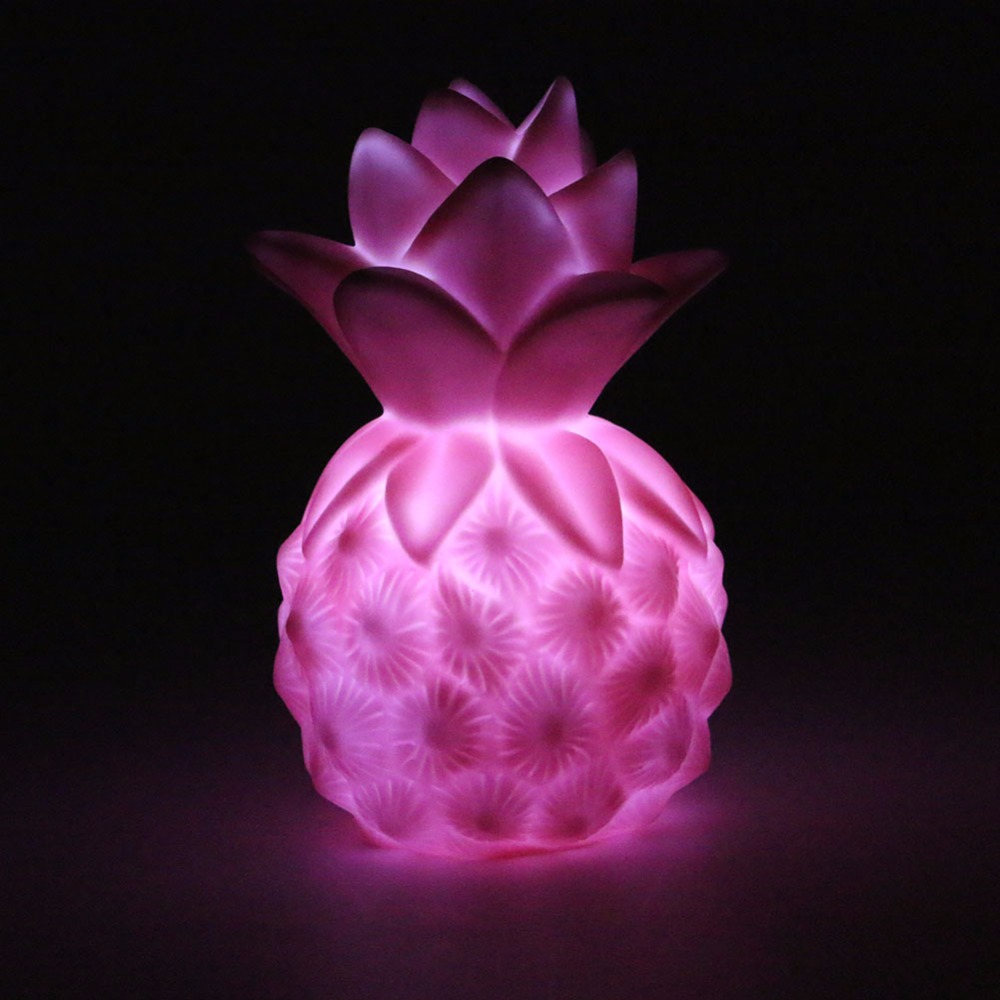 Image 5 - Creative Night Lights Pineapple Led Lamp Soft Silicone Toy Gift Light High Power Bright Desk Table Decor Night Lamp-in LED Night Lights from Lights & Lighting