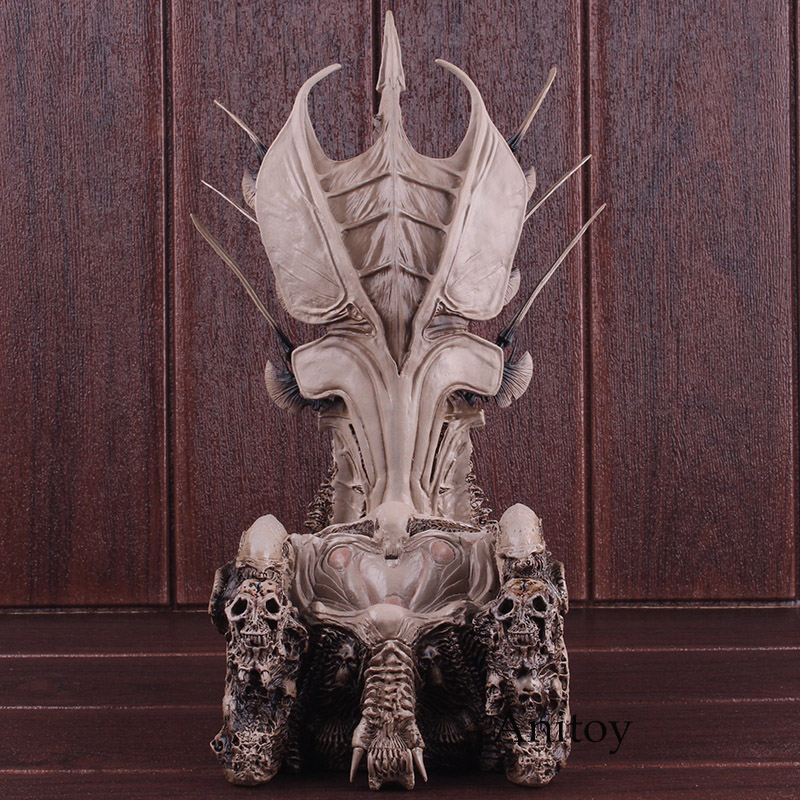 Figurines prédateur NECA prédateur chef de Clan trône PVC figurine à collectionner jouets 32.5 cm