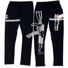 S-XL 9Colors Women's Pencil Pants Black Love Work out Print Pant Letter Elastic Waist Slim Pants Women
