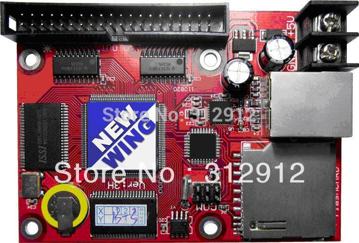 single & dual color led display control card with hub transfer board,support both synchronous and asynchronous fk cx5 rj45 netwok and usb led control card 2408 48pixels support single