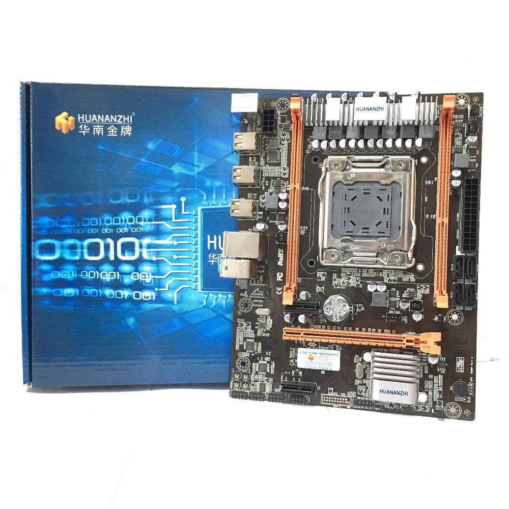 HUANANZHI X79-M4 LGA 2011 DDR3 PC de escritorio placas base de ordenador placas base adecuado para servidor ECC REG RAM
