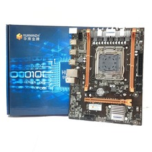 Huananzhi x79 m4 lga2011 ddr3 pc 데스크탑 lga 2011 컴퓨터 마더 보드 서버 ecc ecc reg ram에 적합
