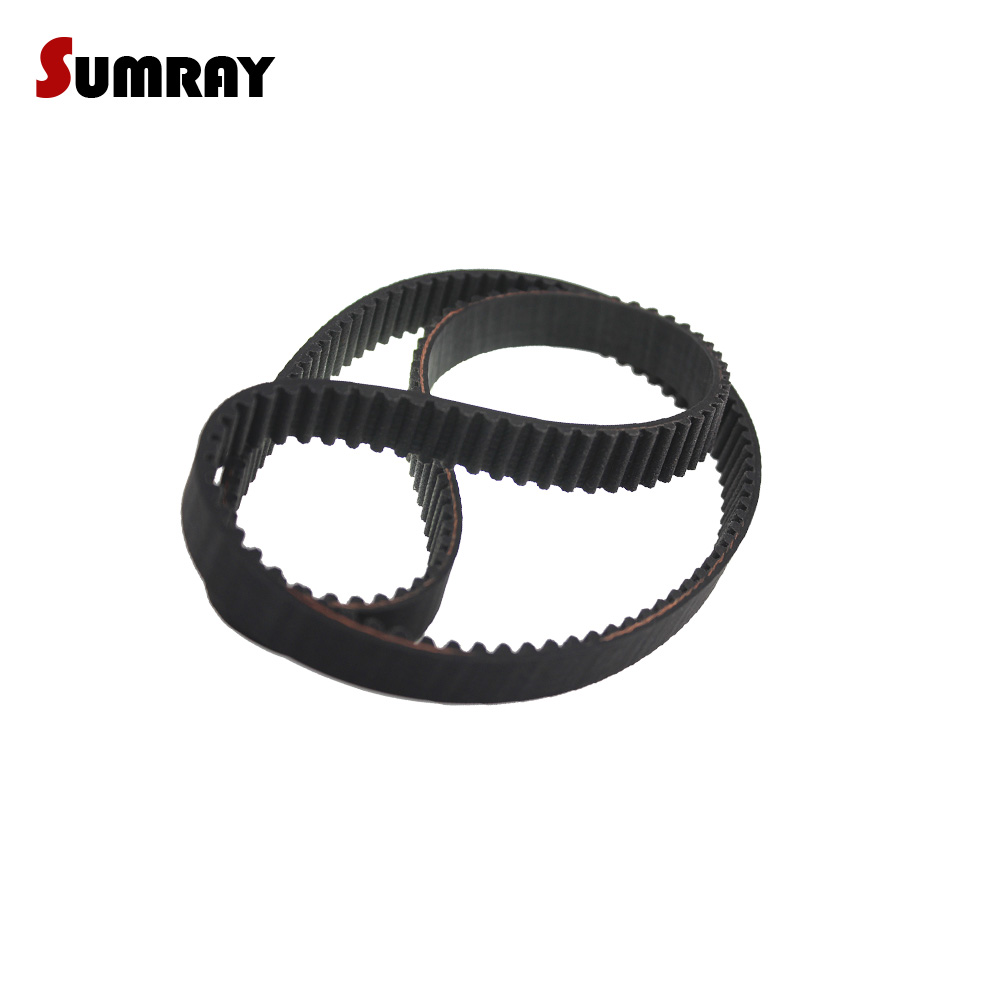 SUMRAY HTD 5M Timing Belt 5M-810/815/820/825/830/835/840/845mm Pitch Length 15/20/25mm Belt Width Closed Loop Belt 5pcs htd5m belt 550 5m 15 teeth 110 length 550mm width 15mm 5m timing belt rubber closed loop belt 550 htd 5m s5m belt pulley