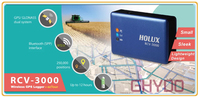 New Version! Brandnew Holux RCV3000 GPS/ Glonass Dual System Wireless GPS Logger + ezTour MTK3333 chipset