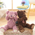 48cm Super Cute Teddy Bear Plush Toys Shy Hug Bears Stuffed Dolls with Magnets Kids Baby Children Friends Gift