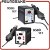 Hot Air Gun 700W 858D 959D ESD Iron Soldering Station LED Digital Desoldering Station Blowser Hot