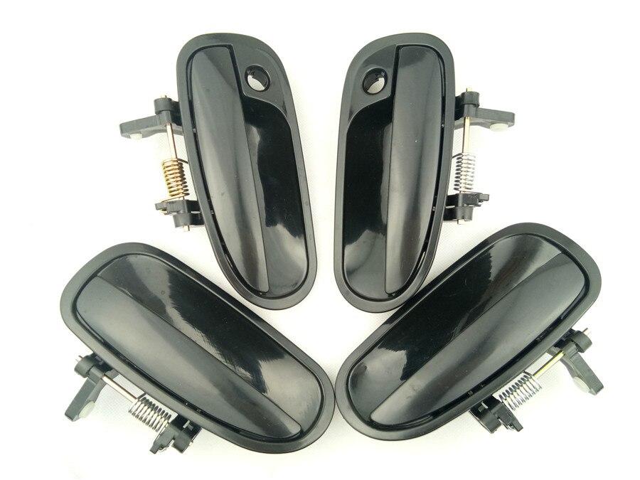 4pcs a set outside exterior door handle for honda civic - 2000 honda accord exterior door handle ...