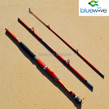 1.8m 2.1m 3 sections Travel Heavy Action High Carbon Boat Fishing Rod, Sea Fishing Rod. Free Shipping.Vara de pesca