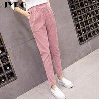 JYRO Brand Women S Pants New Loose Large Size The Elastic Waist High Waist Pants Female