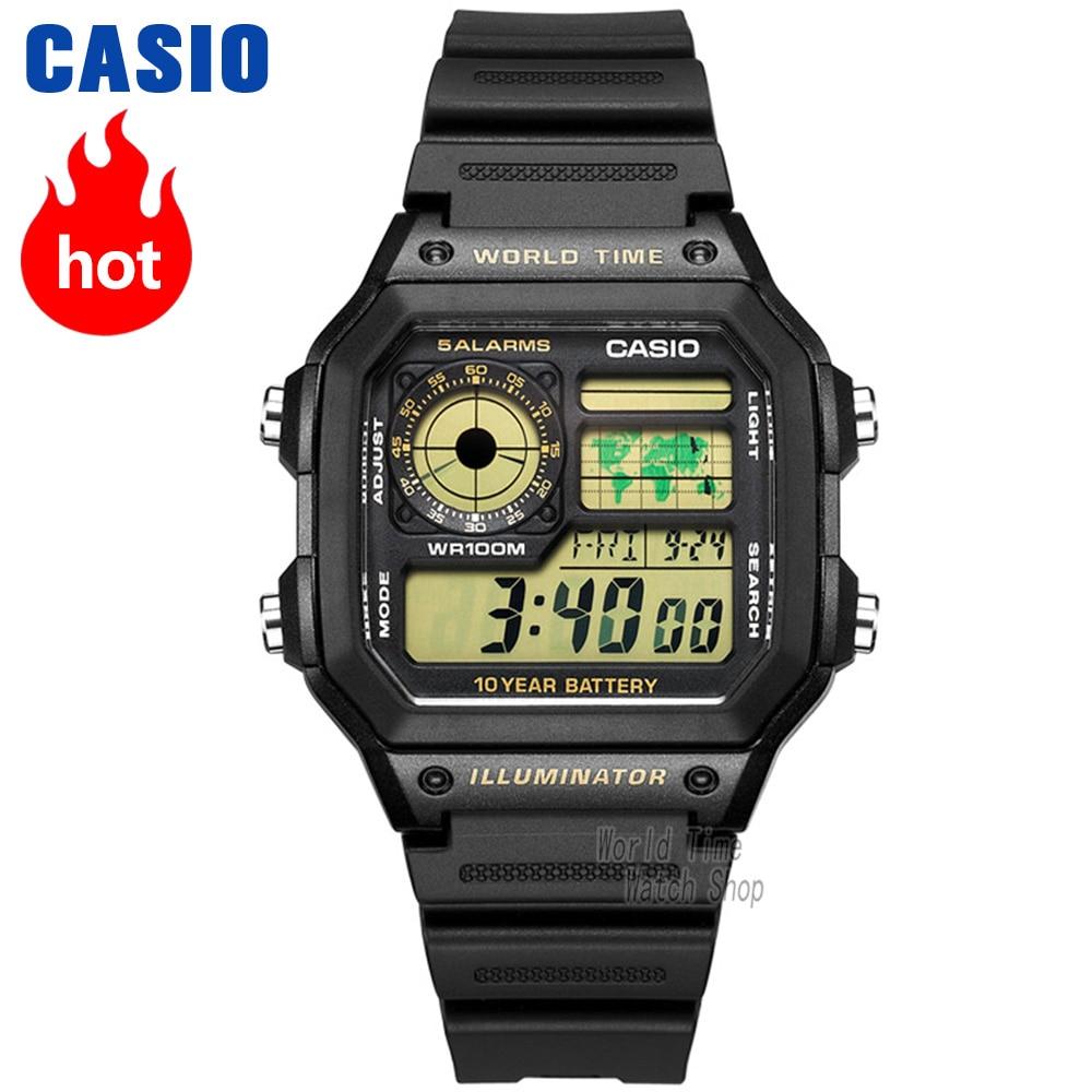 376ad8aec627 Comprar Reloj Casio analógicas de los hombres de cuarzo reloj deportivo  combina moda clásica y relojes AE 1200 Online Baratos