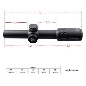 Image 5 - Óptica vetorial gen2 grimlock 1 6x24 bdc (moa) balístico retículo rifle scope centro ponto iluminado riflescope cqb. 223 ar15. 308