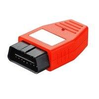 赤い車車両obd2 obd ii obdii allin1プログラマ4dチップ&スマートキーメーカーkeymaker用トヨタ車用
