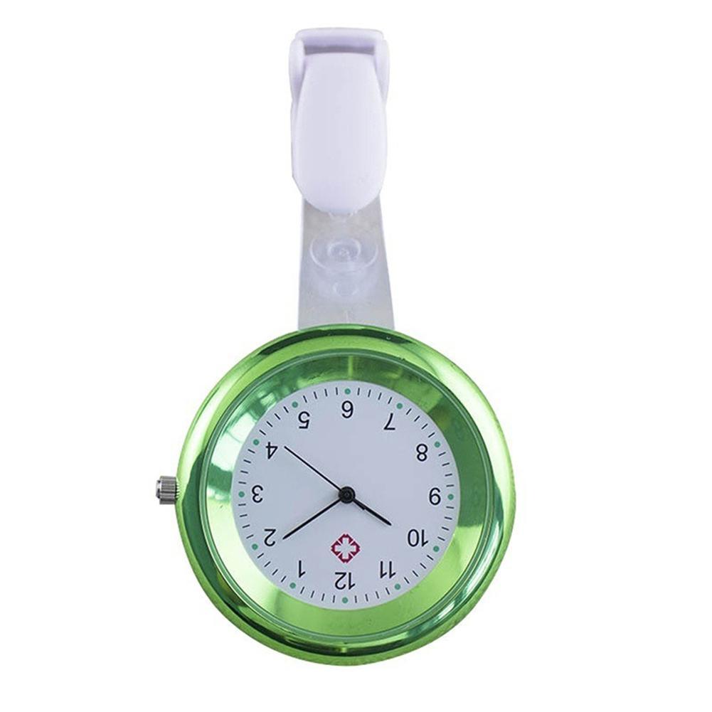Fashion Clock Watches Relogio Round Numeral Analog Quartz Clip-On Nurse Medical Doctor Pocket Watch Reloj Men's Watch