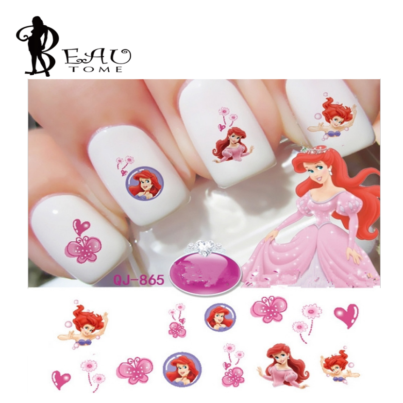 Nail Art Cartoon Stickers ~ the best inspiration for design and ...