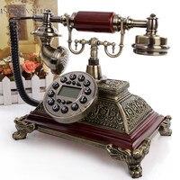 סגנון אירופאי אותנטי וילה סיבובי חיוג חיוג חוזר שיחה מזוהה טלפון קישוט טלפון עתיק