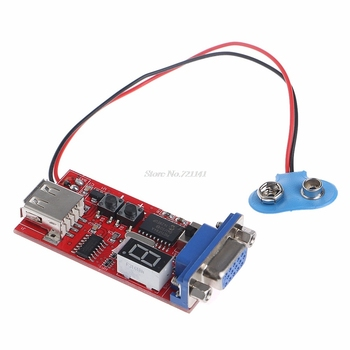 VGA LCD Screen Test Module Color Signal Generator 13 Different Signals