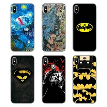 cab187e672b Suave carcasa transparente cubre Dc Comics Batman Joker super hero para  Samsung Galaxy Note 8 9