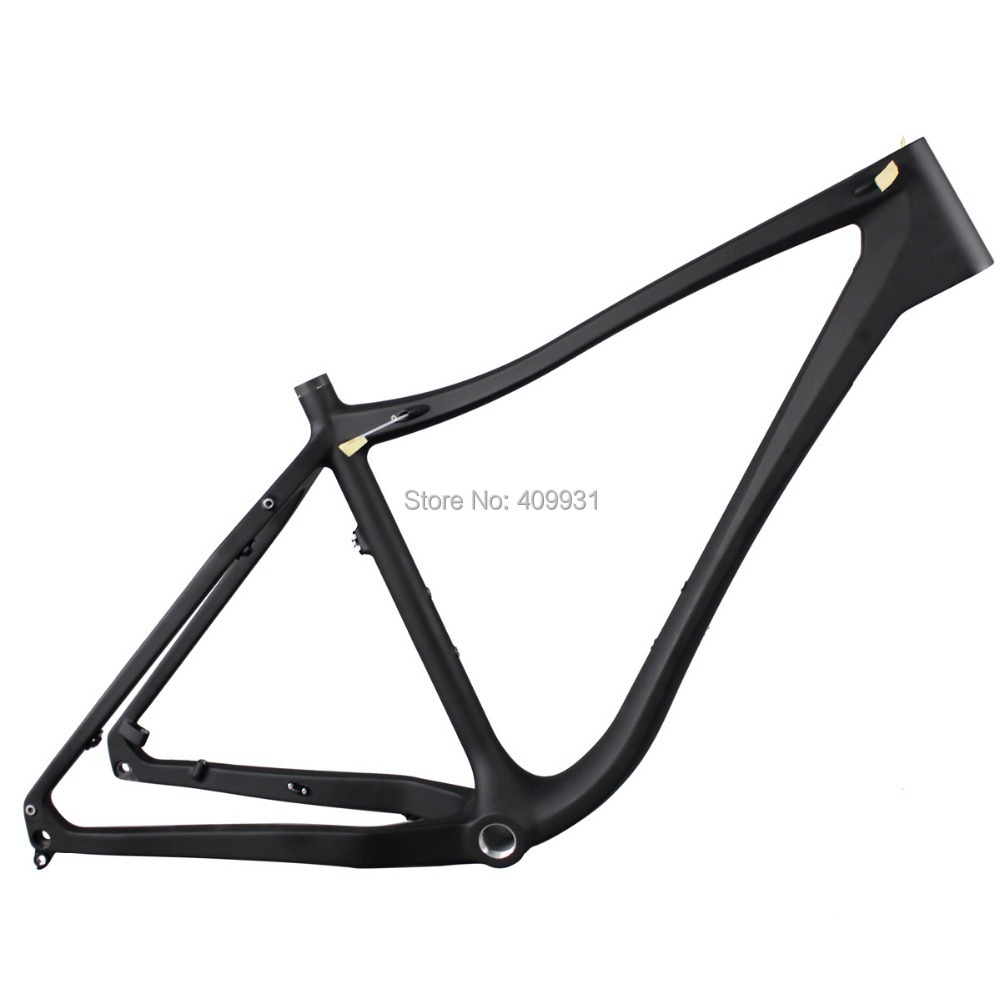 ICAN BIKES Carbon fat bike frame with size 19'' Snow carbon bicycle frame 26ER carbon frame SN03 2017 carbon fat bike frame 26er 16 18 20inch carbon fat frame 26 carbon snow bike frame with thru axle shafter