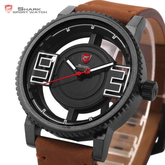 3D Transparent Hollow Dial Design Luxury Watches 2