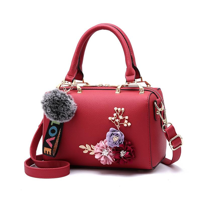 Yogodlns Flowers Women S Tote Leather Clutch Bag Small Ladies ... c12cdfc47cc8f