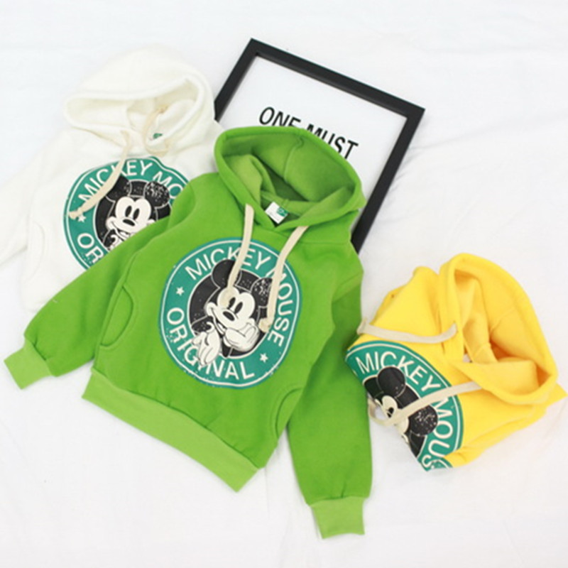 2016 Winter Autumn boys girls casua sport hoodies cartoon sweatshirt children clothes baby kids coat jacket clothing