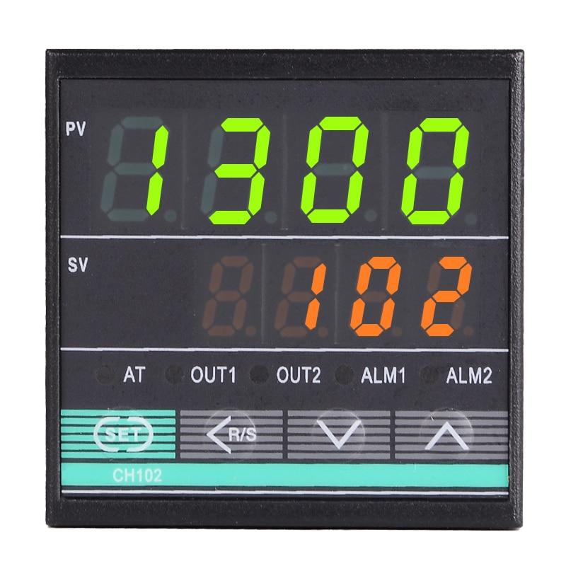 48 * 48mm RKCデジタル温度コントローラーサーモスタットK / J / E / S / R / PT100入力、卵インキュベーター用リレー出力