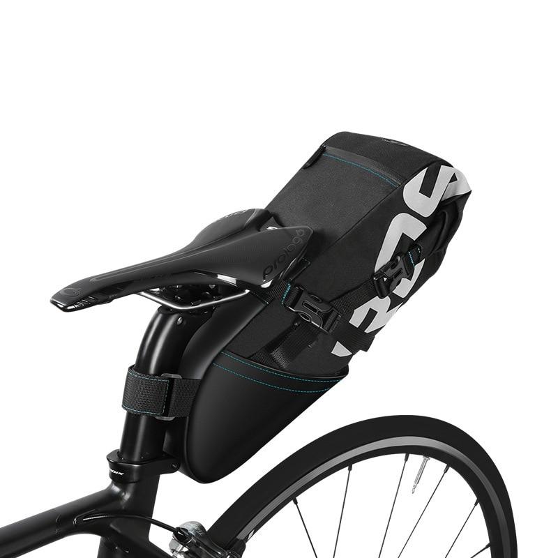 ROSWHEEL 2017 NEWEST 6L Waterproof MTB Bike Bag Bike Saddle bag Rear Seat Bags Accessories Cycling Bicycle Saddle Bag feu led tmax 530