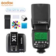 Godox TT685 TT685O Speedlite Flash Wireless TTL+X1T-O Transmitter Wireless Flash Trigge for Olympus Camera Olympus E-M10II/E-M5I new arrival godox x1t x1t o 2 4g wireless speedlite flash transmitter trigger for olympus panasonic cameras