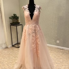 kissbridal Prom Dresses 2018 A-Line Party Dresses