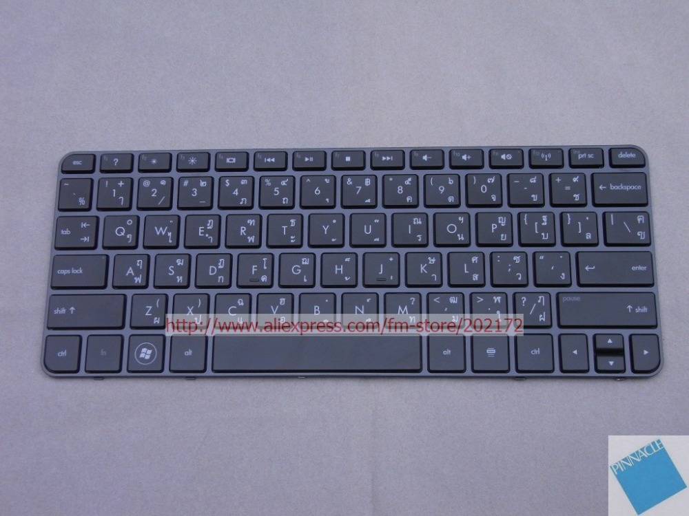 Brand  New Black  Laptop  Notebook Keyboard  590527-281 588115-281  For  HP MINI 210 series  (Thailand) 100%  compatiable us laptop keyboard for sony vpc ya serials black black frame gr german 9z n5usw 20g a1803980a