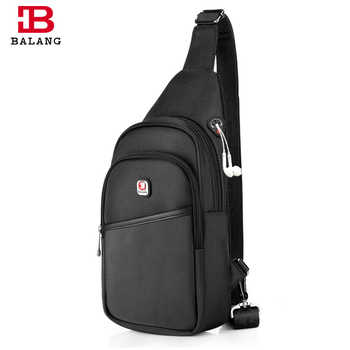 Balang Brand 2019 Men's Casual Crossbody Bag Women Sling Bag Chest Pack Waterproof Chest Bag Men Shoulder Bags Teenager Daypack - DISCOUNT ITEM  49% OFF All Category
