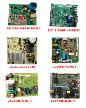 B03031045-GB H1366350| BCD-318WBP H1366333| 20.22.326.04.04.10| CQC08134027008| 20.22.206.20.07.18| 20.22.206.40.06.18 Used Work