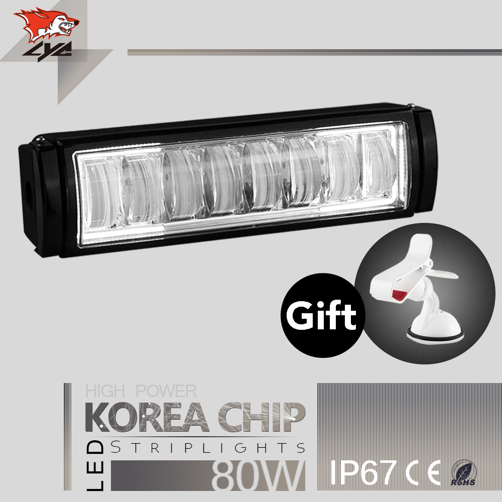 Singel Pcs Can be Spliced 10 Inches Led Light Bar 20 /30 /40/50 Inches for Amber Offroad Waterproof High Quality Lamp