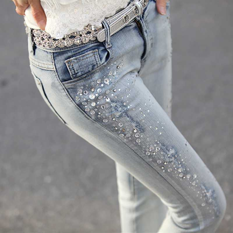 фото джинс с камнями талии такой запущенности