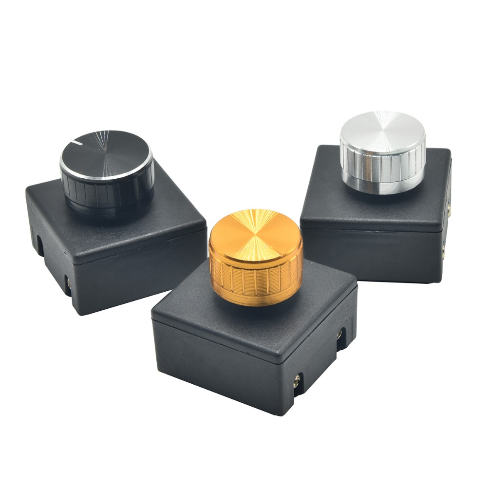 3PCS 220V 3A Lamp Knob Dimmer Switch Hotel Bedside Table Lamp Wall Light Dimmers Switch Good High-Power Knob Dimming Switches