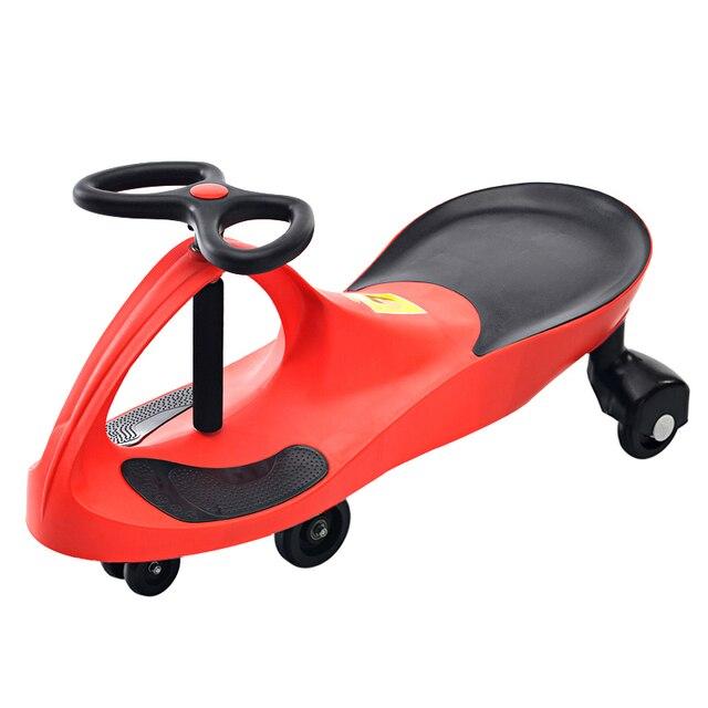 Children Three Wheel Balance Car Scooter Portable No Foot