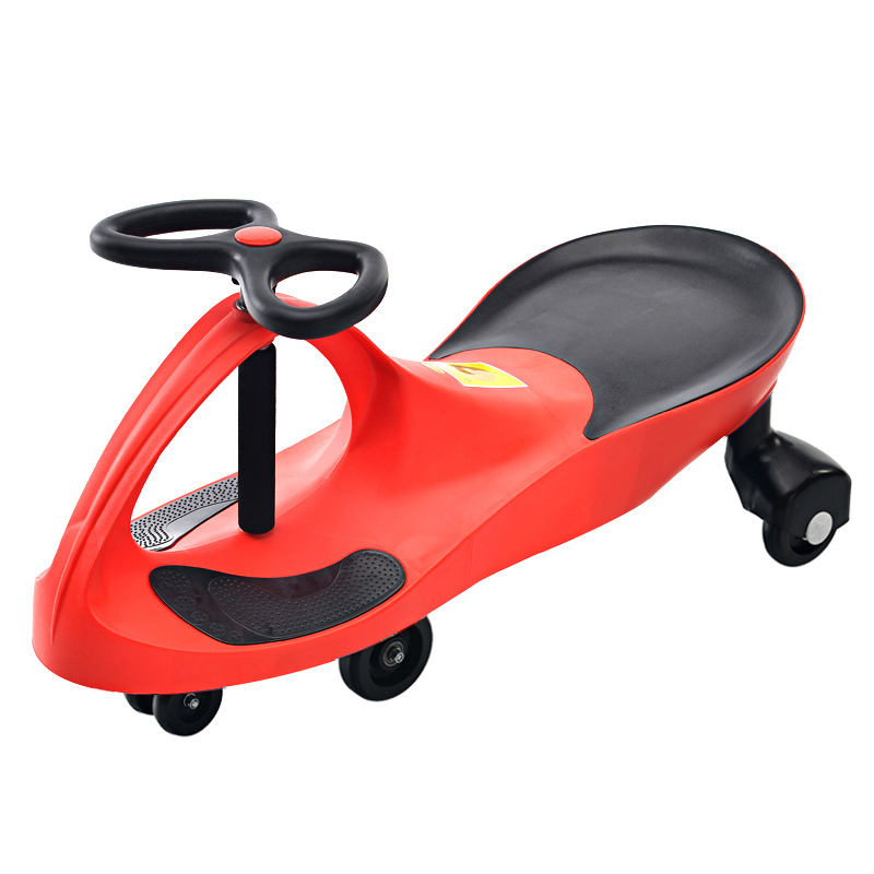 Enfants trois roues Balance voiture Scooter Portable pas de pédale enfants balançoire voiture torsion voiture bébé marcheur Tricycle équitation jouets