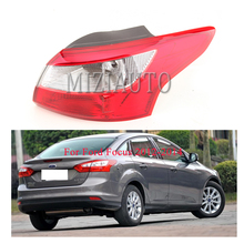 MIZIAUTO 1PCS Outer Lamp Rear Tail Light for Ford Focus 2012-2014 Car Styling Rear Light Brake Lamp Red Tail Light Assembly цена 2017