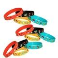 20pcs New pokemon go pikachu power Hologram silicone balance energy bracelets wristband bangles Party Favors gift Wristbands