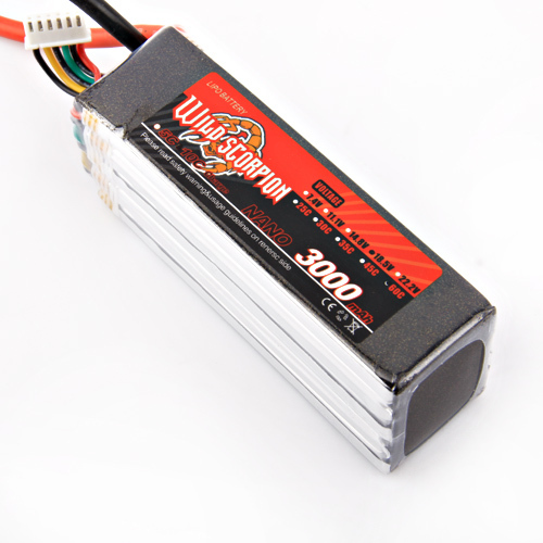 1pcs Wild scorpion Lipo Battery RC 18.5V 3000mAh 60C 5S For RC Quadcopter Drone Helicopter Car Airplane wild scorpion 11 1v 5500mah 35c rc car helicopter model plane lipo battery free shipping