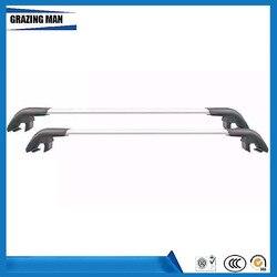 Akcesoria samochodowe wysokiej jakości 2 sztuk ze stopu Aluminium bagażnik dachowy rail poprzeczka nadające się do TRIBECA bagażnik