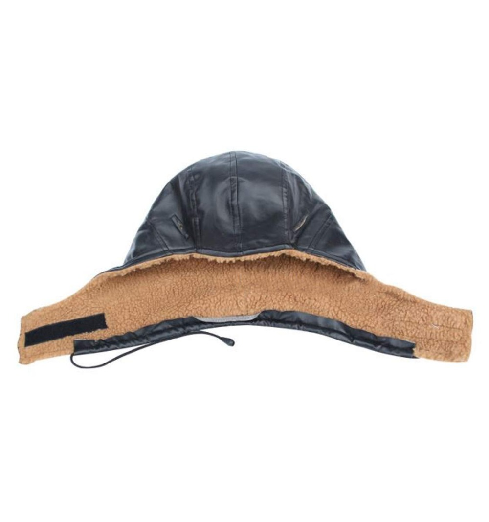 Free ShipÖFaux Leather Winter Thermal Liner Hats For Hard Hat Safety Helmet
